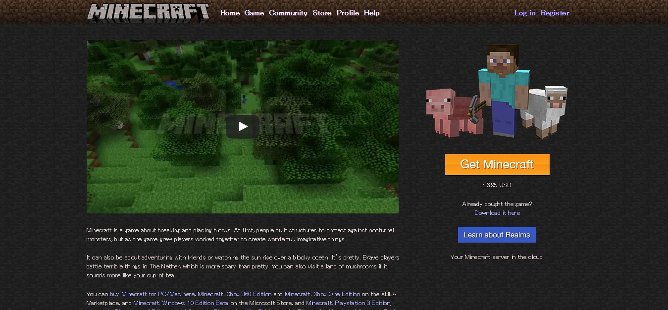 Minecraft-top