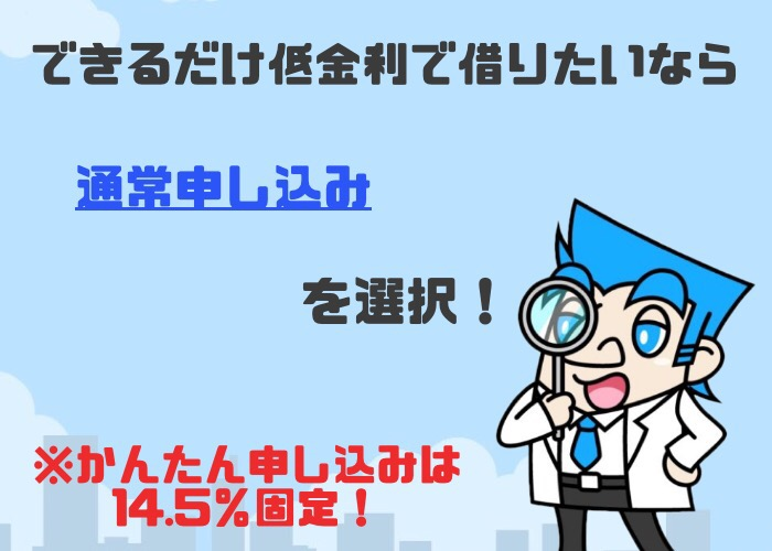 三井住友銀行カードローン,申込手順