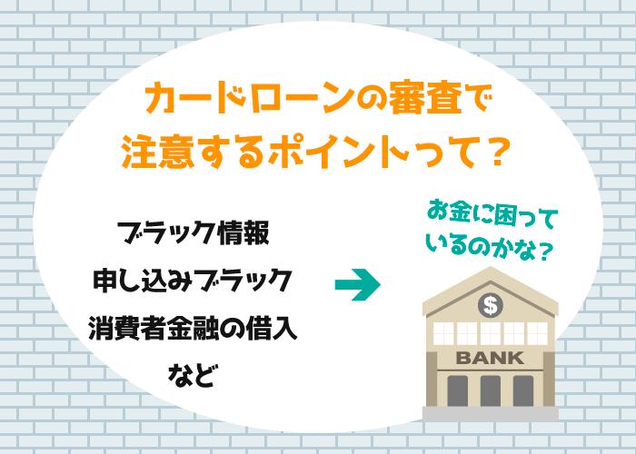 消費者金融,銀行,銀行系カードローン