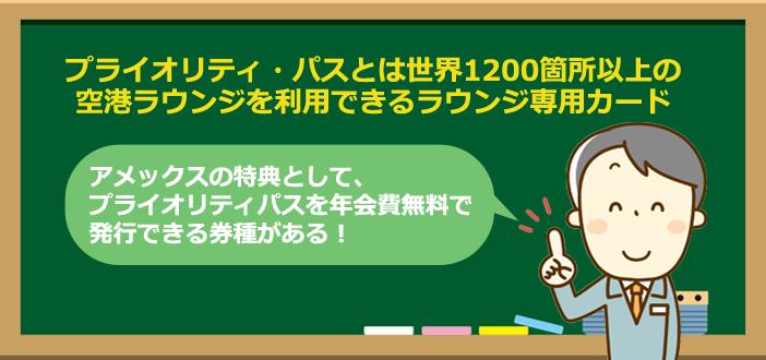 プライオリティ・パス,ラウンジ専用カード,アメックス
