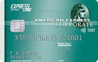 アメリカン・エキスプレス・JR東海エクスプレス・コーポレート・カード グリーン