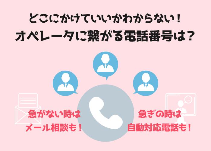 イオンカード目的別問い合わせ電話番号の短縮ダイヤル一覧
