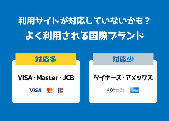 エラー?クレジットカードでネット決済できない原因と対処方法
