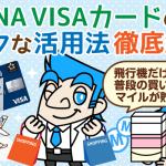 ビジネス利用にも強い!ANA VISAカードのメリットまとめ